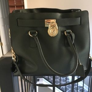 Michael Kors Hamilton Saffiano Leather Tote Bag